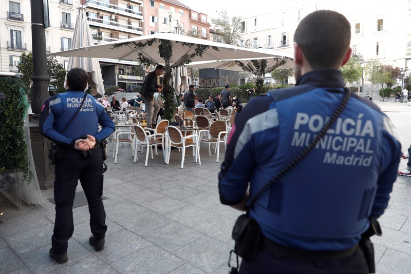 Испания, коронавирус, мерки
