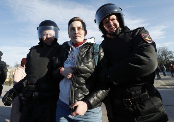 протест, Русия, Москва