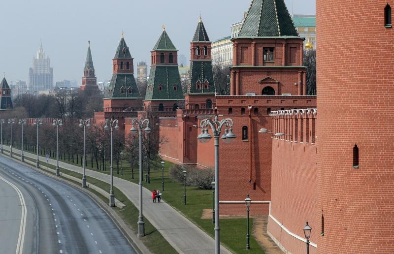 Москва, карантина, блокада