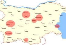 карта, коронавирус