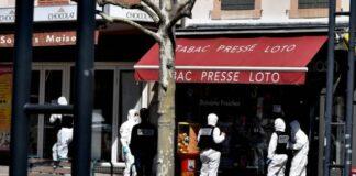 Франция, намушкани 2ма