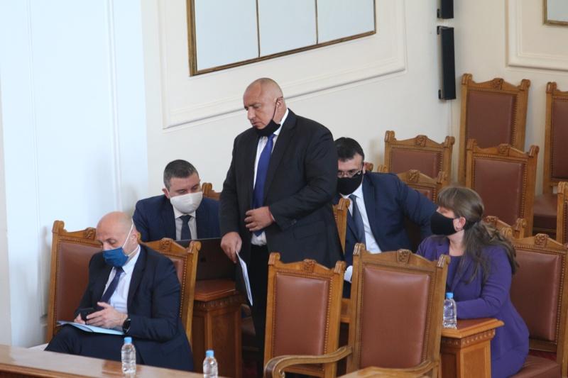 Бойко Борисов, парламент