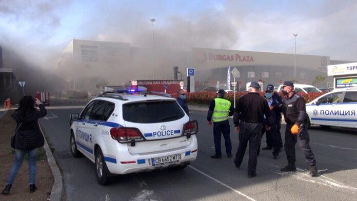 пожар, Бургас