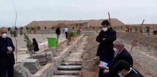 Иран, гробове