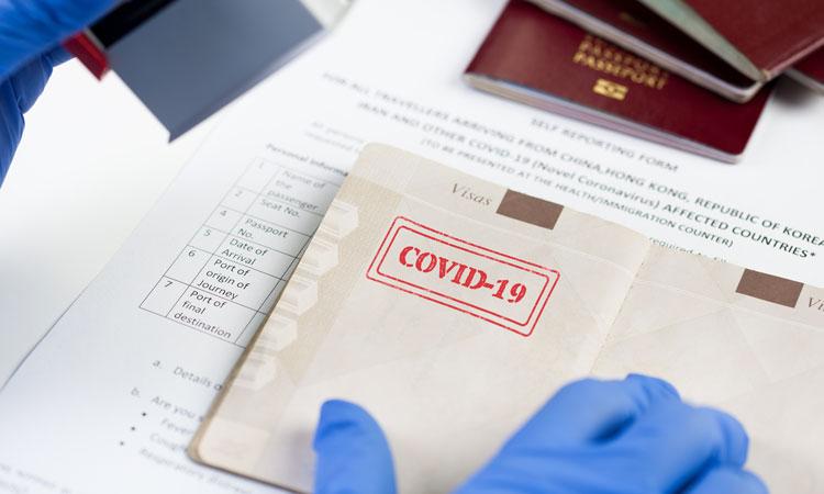 Паспорт Covid-19