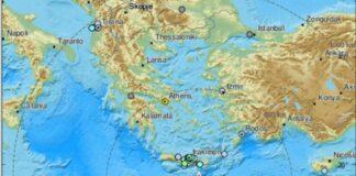 земетресение, Крит, 6 по Рихтер