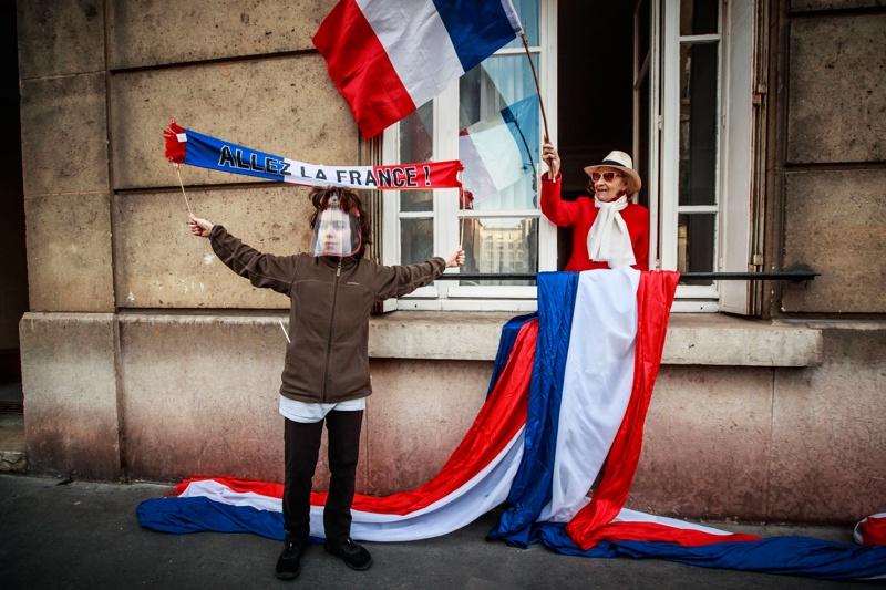 Франция, карантина