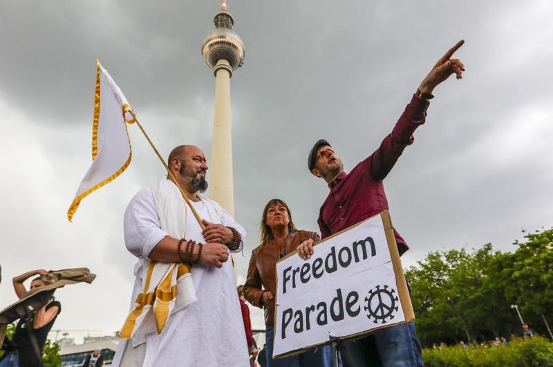 Германия, протест, коронавирус, ограничителни мерки