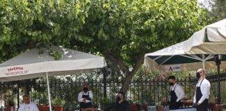 Гърция, море, ресторанти