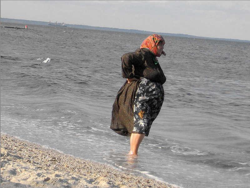 баба, море, пенсионери