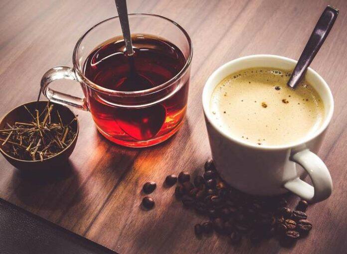 кафе, чай, гени