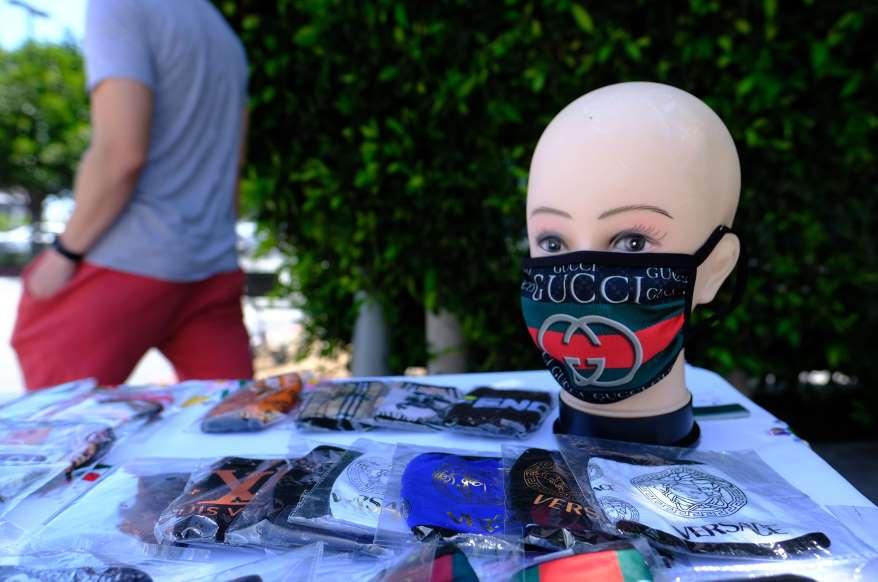 маска, маски, модно шоу, мода