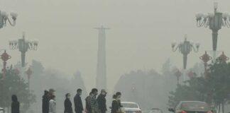 Китай, замърсяване на въздуха