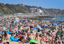 плаж, Великобритания