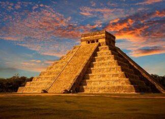 Мексико, пирамиди