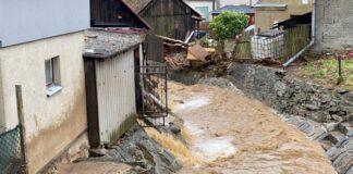 Наводнение Чехия