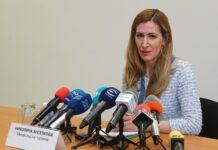 Министърът на туризма - Николина Ангелкова