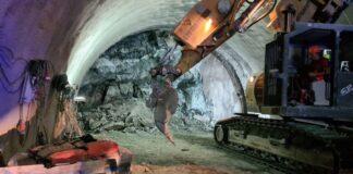 Тунел Железница се срина
