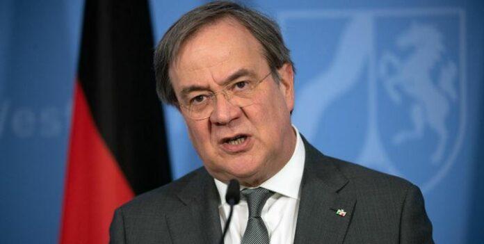 Премиерът на Северен Рейн - Вестфалия Армин Лашет
