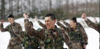 Китай, войници