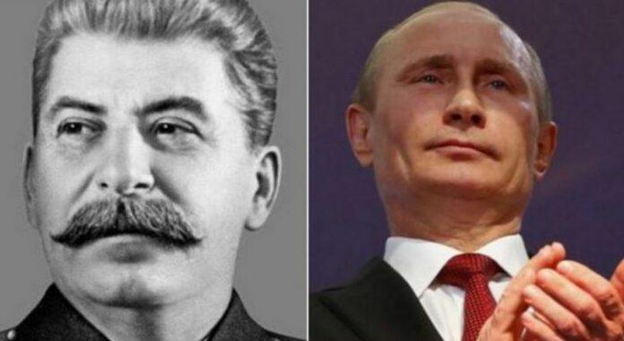 Путин, Сталин