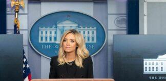 Кейли Макинани, говорител на Белия дом