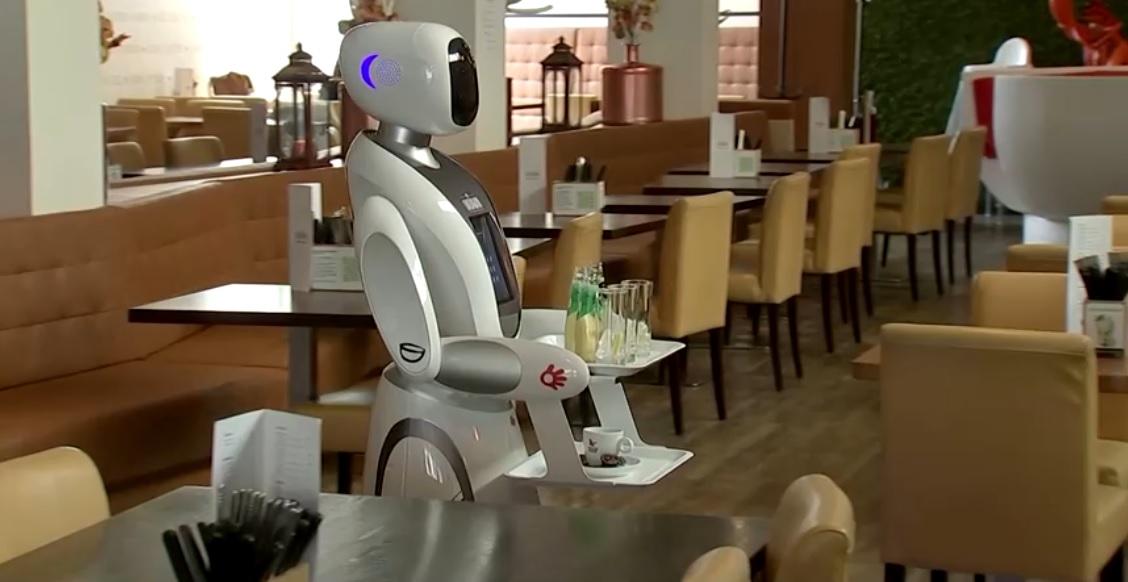 робот-сервитьор в Холандия