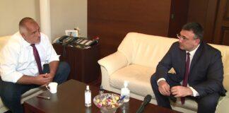 премиерът Бойко Борисов и вътрешният министър Младен Маринов