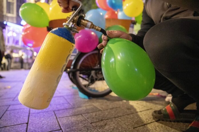 балон райски газ