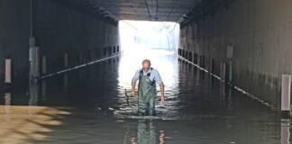 София наводнен подлез