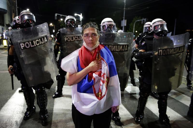 Протести в Сърбия