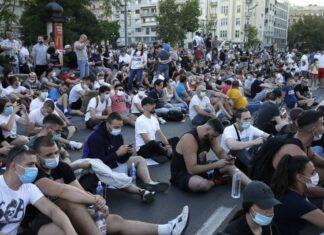 Белград протести