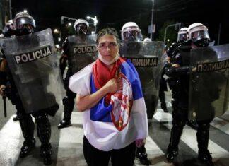 Сърбия, протести