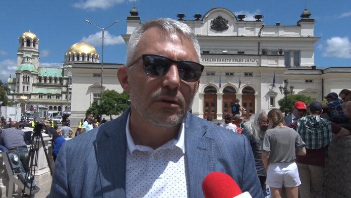 Николай Хаджигенов, протест