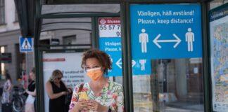 Швеция коронавирус