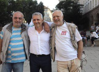 """""""Отровното трио"""" - роф. Велислав Минеков, адв. Николай Хаджигенов и Арман Бабикян"""