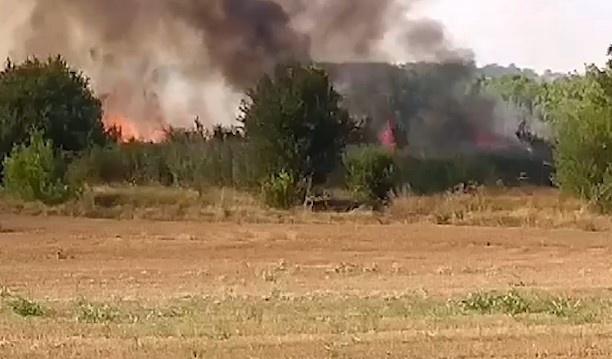 пожар, АМ Марица
