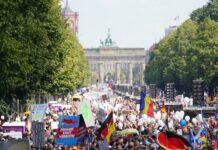 Германия, протести, полиция