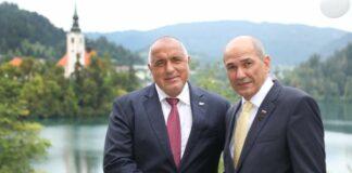 Бойко Борисов и премиерът на премиера на Словения Янез Янша