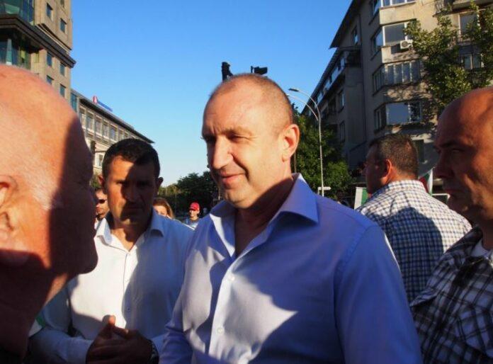 Румен Радев във Варна