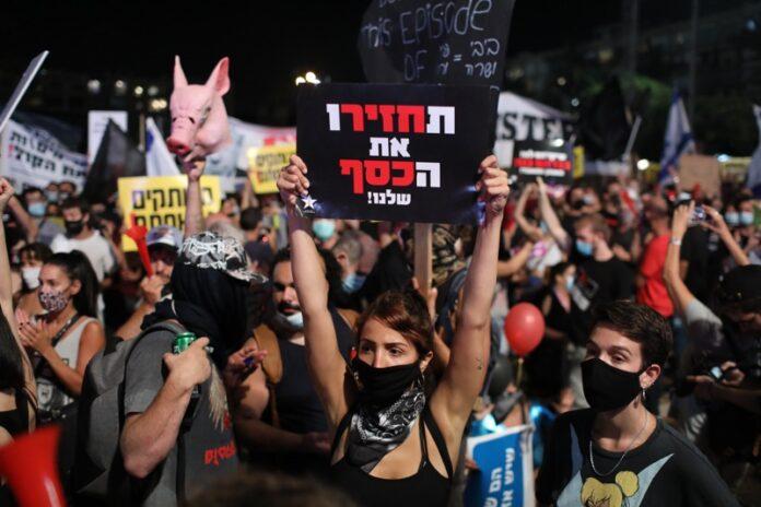 протест коронавирус Израел