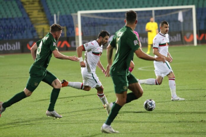 футбол България Северна Ирландия