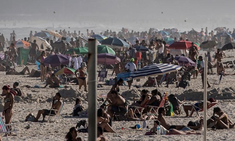 На плаж в Бразилия