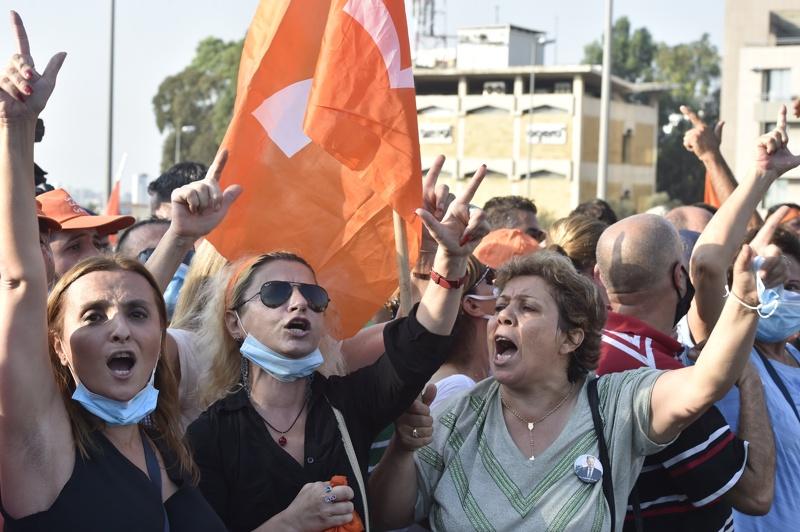 протест Ливан