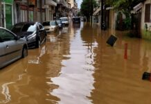 наводнение Гърция