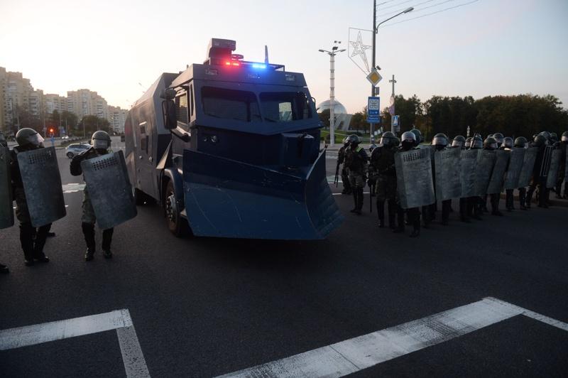 Протести в Беларус