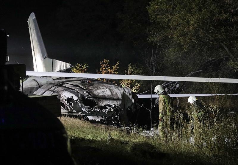 Катастрофа с хеликоптер в Украйна