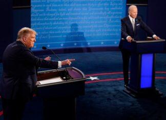 Байдън Тръмп дебат