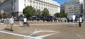протест полиция