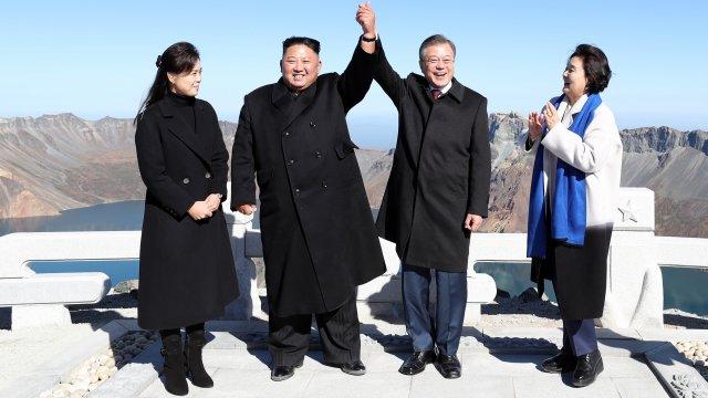 Джан Сон Тхек, Ким Чен Ун